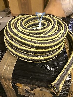GLAND PACKING ROPE / SHAFT SEAL - 20.5mm Or 12.5mm Or 9.5mm SQUARE x 1M LONG