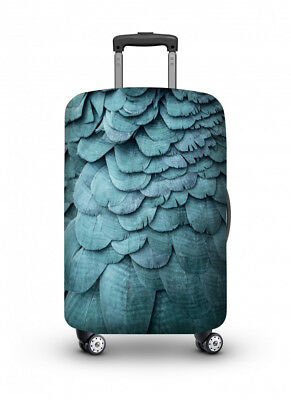 Luggage Cover Travel Suitcase Protector Elastic Protective VELOSOCK Blue Bird