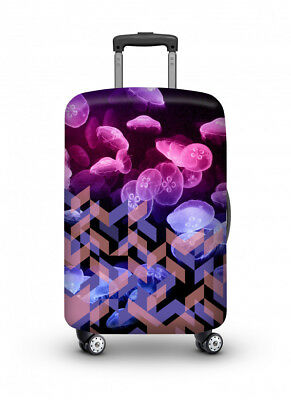Luggage Cover Travel Suitcase Protector Elastic Protective VELOSOCK Medusa