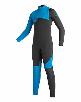 NEW QUIKSILVER™  Boys 8-16 Highline 4/3MM GBS Ziperless Steamer Wetsuit 2016 Boy
