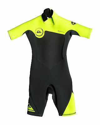 NEW QUIKSILVER™  Boys 2-7 Syncro 2/2mm Short Sleeve Springsuit Wetsuit 2016 Boys