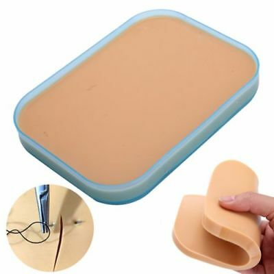Medical Surgical Suture Training Human Skin Model Pad Student Nurse Practice Kit