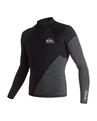 NEW QUIKSILVER™  Mens Syncro New Wave 1mm Long Sleeve Wetsuit Jacket 2016 Surf