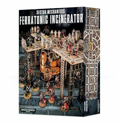 Sector Mechanicus Ferratonic Incinerator Games Workshop Terrain Warhammer 40000