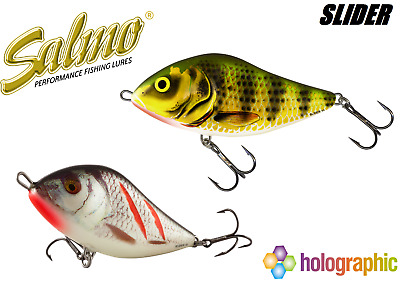 Salmo Slider lure all sizes / models Jerkbait wobler fox rage predator tackle