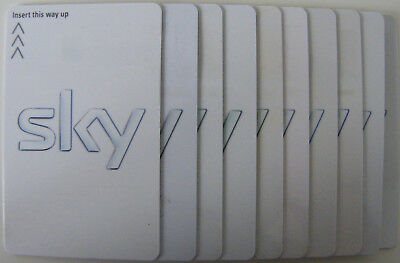 sky VIEWING card - white