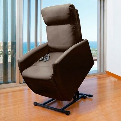Compact 6008 Lifting Massage Relax Chair Remote Control Heated Armchair Massager