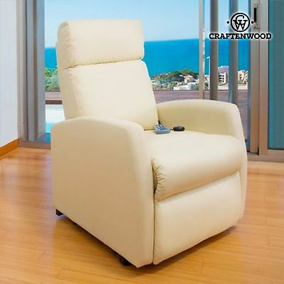 Compact 6024 Massage Relax Chair Remote Control Heated Armchair Recliner Comfort