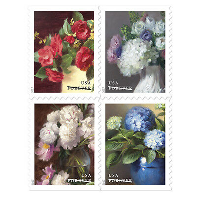 USPS New Flowers from the Garden Press Sheet with DC