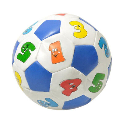 Kids Baby Puzzle Coloured Soft Indoor Leather Football Soccer Play Ball Toys