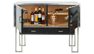 Modernist Art-Deco Cocktail Cabinet by Heals 1930's