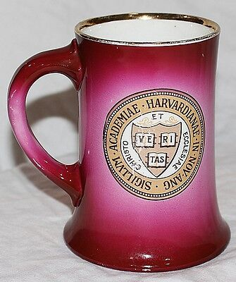 Antique HARVARD Mug by W. M. Tatler