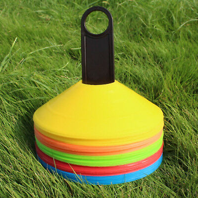 50pcs Football Training Cones - MULTI COLUR - Football/Sports Marker Disc