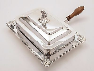 Edwardian Silver Plated Serving Dish, Circa 1905