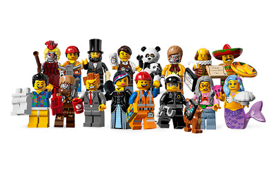 Lego Minifigures La Grande Aventure LEGO (71004) - Choose Your Figure - Au choix