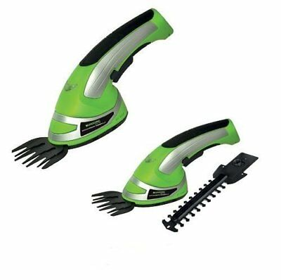 TRIMMER GRASS SHEAR Cordless 2 in1 Cutter & Hedge Hand Held Shear New Easy