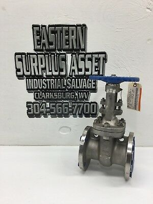"OIC Newman's 3"" CF8M Stainless Flanged Gate Valve NEW"