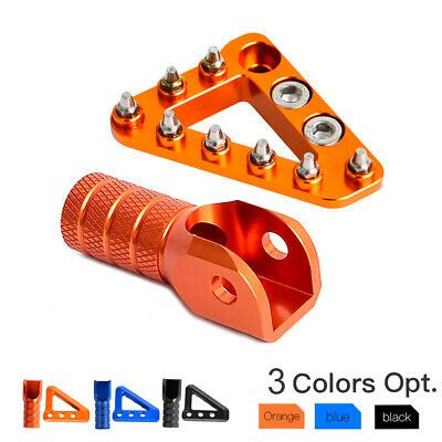 Brake Pedal Lever Step Plate Tip for KTM 125-530 SX/EXC-F XCW,690/950 SUPERMOTOR