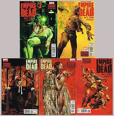 George Romero's Empire of the Dead: Act Two complete miniseries run 1-5 full set