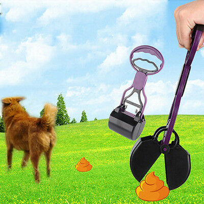 Pooper Scooper Rake Dog Pet Cat Yard Lawn Waste Poop Sanitary Pickup Remover