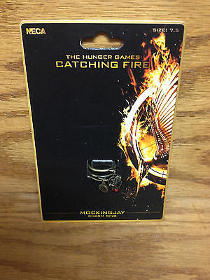 Mockingjay CHARM RING The Hunger Games Catching Fire * Movie Promo with Charms