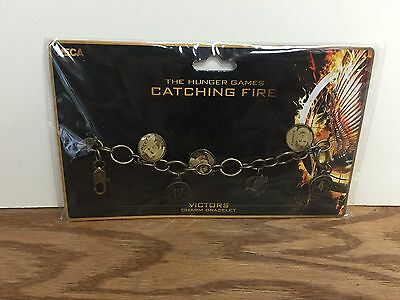 VICTORS CHARM BRACELET The Hunger Games Catching Fire ** Brand New !