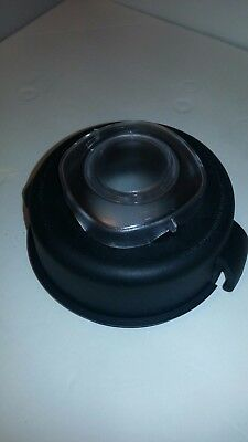 "Vitamix 5200 "" RUBBER LID & CLEAR CAP"" fits 64-Ounce container NEW. (lid & cap)"