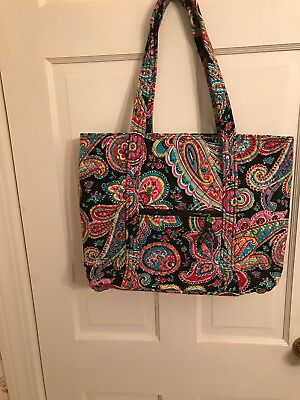 NWT Vera Bradley PARISIAN PAISLEY Triple Compartment Travel Bag Weekender Tote
