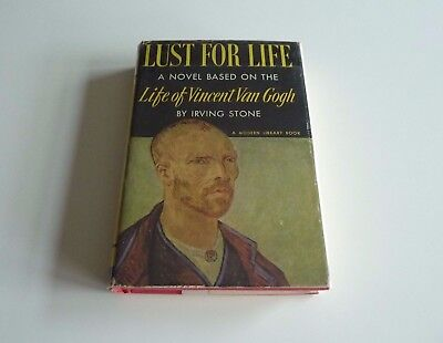 Lust For Life A Novel of Vincent Van Gogh by Irving Stone (Modern Library)