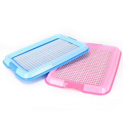 New Indoor Puppy Dog Pet House Potty Training Pee Pad Mat Tray Toilet Odorless