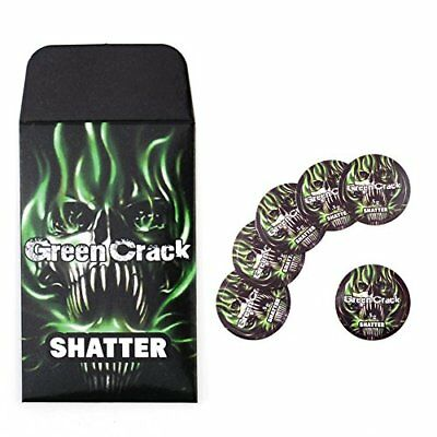 Green Crack Shatter Extract Envelopes & Strain Rx Cannabis Label Stickers Combo