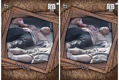 2x TRAPPED MARATHON T-DOG The Walking Dead Card Trader Digital