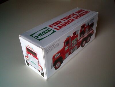 EMPTY BOX for 2015 Hess Fire Truck & Ladder Rescue