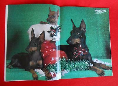 RARE Collectible ~ MANCHESTER TERRIER Issue ~ DOG FANCY Magazine ~ December 1983