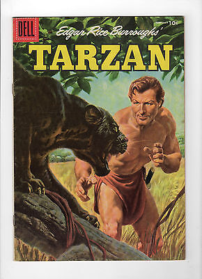 Tarzan #77 (Feb 1956, Dell) - Very Good+