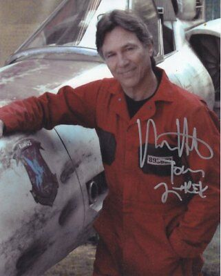 BATTLESTAR GALACTICA  APOLLO  RICHARD HATCH # 4 hand signed
