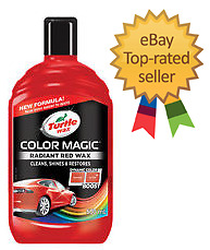 Turtle Wax Radiant Red Colour Magic Enhancing Polish 500ml  *NEW FORMULA*
