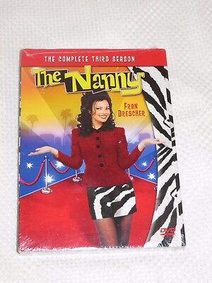 The Nanny - The Complete Third Season (DVD, 2009, 3-Disc Set) New