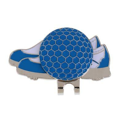 New Blue Shoe Design Golf Hat Clip with Magnetic Ball Marker Golfer Gift