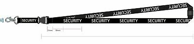 One Security lanyard id. Clip for card holder