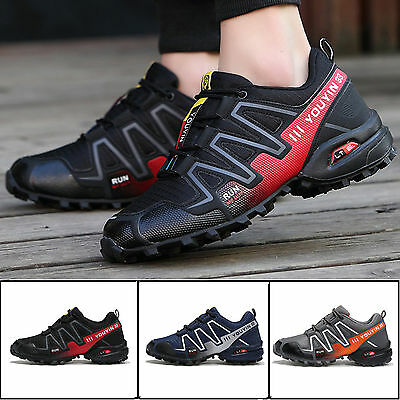 Men's Shoes Breathable Athletic Running Sports Outdoor Hiking Shoes Sneakers