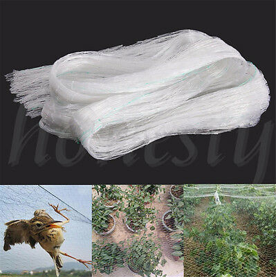 2x10m Anti Bird Netting Net Mesh Vegs Crop Plant Fruit Protection For Pond Farm
