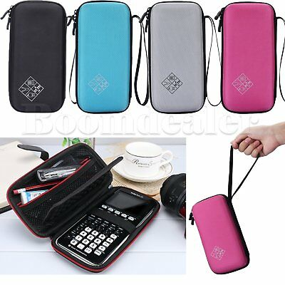 Hard Bag Portable Case Cover for Graphing Calculator Texas Instruments TI Series