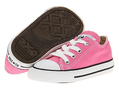39b5a8458efd Converse OX Low Tops Pink All Sizes Infant Toddler Baby Boys or Girls Kids  Shoes