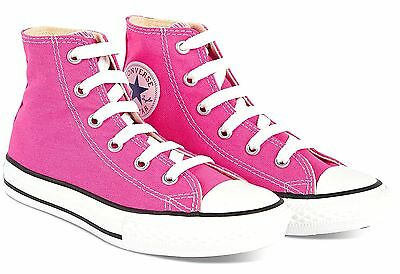c31773b58cd Converse Chuck Taylor All Star Hi Tops Pink All Sizes Womens Sneakers Shoes
