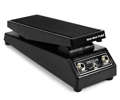 DT Black Wah-Wah Electric Guitar Tones Effect FX Pedal
