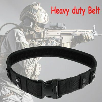 Quick Release Security Army Guard Parametic Utility Nylon Duty Tactical Belt