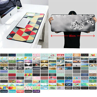 137 Designs Extended Gaming Wide Large Mouse Pad XXL 80X30cm Big Size Desk Mat