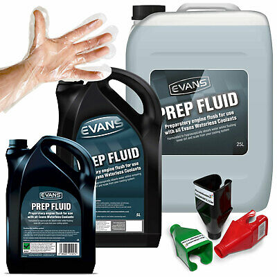 Evans Prep Fluid Waterless Engine Coolant Flush - Race, Performance and Rally.