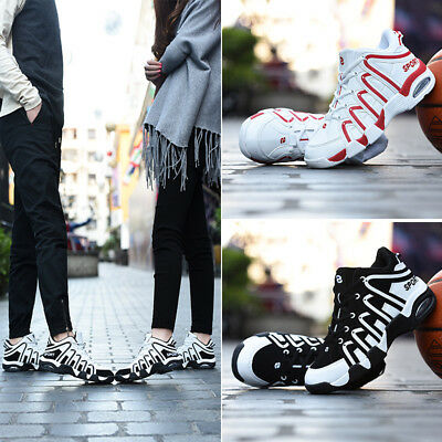 New Air Cushion Couple Basketball Shoes Breathable Women Students Sports Casual